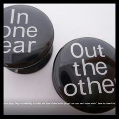 Witty plugs #stretching #piercing
