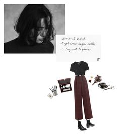 """""""worse off"""" by ocenia ❤ liked on Polyvore featuring Mr. Wolf, Sonia Rykiel, Gorham, Match and Topshop"""