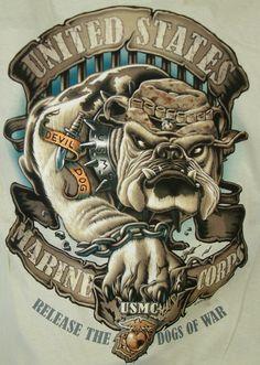 Usmc Bulldog Tattoos Pin usmc military bulldog tattoo images tattoes ...