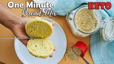 One Minute Keto Bread Mix (almond, golden flax, husks)