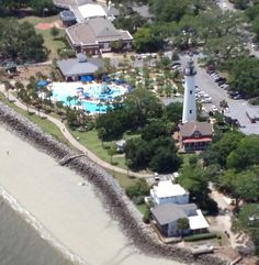 Explore St. Simons Island from the Air!