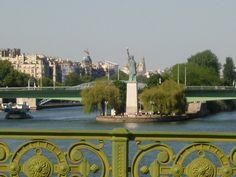 Paris Pont de Javel: statue de la Liberté