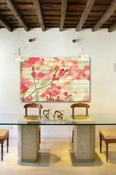 Marmont Hill Inc. | Morning Light White Wood Wall Art | HauteLook #marmonthill #homedecor #wallart