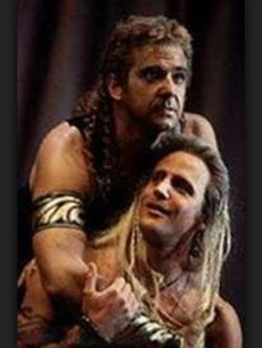 Philip Quast as Achilles in Troilus and Cressida at the RSC, with Jeremy Sheffield Philip Quast, Troilus And Cressida, Achilles, Sheffield, Musicals, Play, School, Fictional Characters, Fantasy Characters