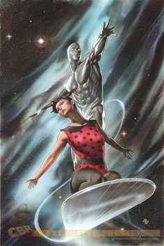 Silver Surfer by Adi Granov
