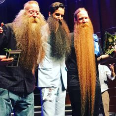 No Words Just Beards - Beards of the Week - Winners at the WBMC17
