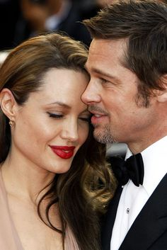 Angelina Jolie & Brad Pitt are a modern day hollywood couple - they've been together since 2005, married in 2014. They have 6 children, 3 of whom are adopted. Jolie and Pitt's relationship has attracted protracted media attention