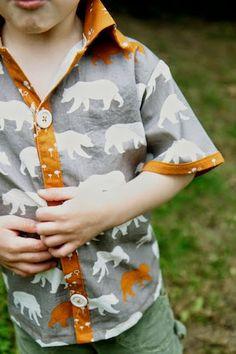 birchfabrics: Free PDF Pattern & Tutorial | Cerro Torre Shirt | by The Crafty Kitty
