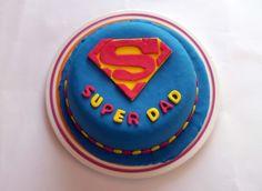 super dad #cake