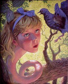 Greg Hildebrandt- Alice in Wonderland 8