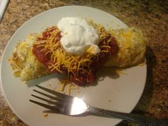 "Bariatric Foodie: Nik's ""Egg-chilada"""