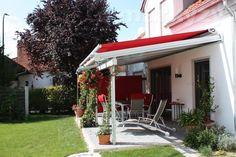 Venkovní markýza pro zimní zahradu, kde nelze použít standardní markýza [Maxilux] Pergola, Outdoor Decor, Home Decor, Roof Drain, Glass Roof, Solar Shades, Winter Garden, Decoration Home, Room Decor