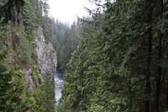 Capilano Pacific Trai,l Vancouver BC 4 hours to hike 15 minutes from Vancouver