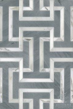 Possibly my favorite bathroom floor tile so far.