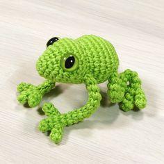 free crochet frog pattern