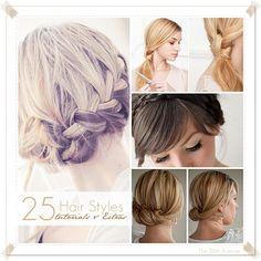 25 Gorgeous Hair Styles... LOVE!!!! #hair #beauty