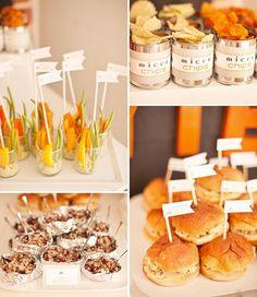 mesas saladas para fiestas - Buscar con Google