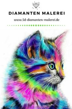 DIY 5D Diamant Gem/älde Malen nach Zahlen Erwachsene Kit Diamond Painting Set Full Blue Cat 5D Diamant Painting Stickerei Strass Kreuzstich Kunst Craft Supply f/ür Home Wall Decor 30x40cm