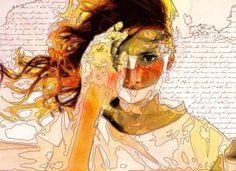 Mylène Farmer - Effets secondaires - Digital artwork