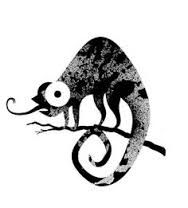 Image result for chameleon tongue silhouette