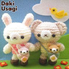 animales amigurumis pagina japonesa