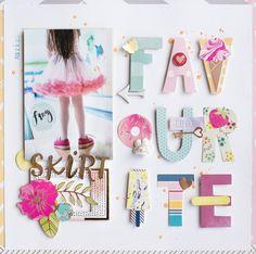 Favourite skirt - Scrapbook.com