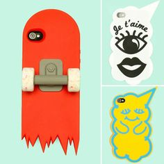 fun and very different iphone cases :)