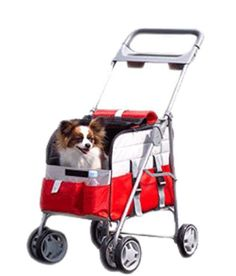 Petzip 3 In1 Pet Carrier Stroller, Red ** Insider's special review you can't miss. Read more  : All pet supplies