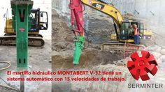 Serminter, proveedores de martillos hidráulicos marca Montabert en México