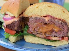 This better-for-you bacon cheeseburger will sate all your summer burger cravings.