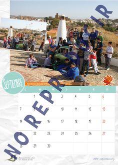 Mes de Septiembre del Calendario Solidario 2015