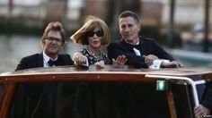 Wedding guests - US Vogue editor Anna Wintour - Venice September 2014.jpg