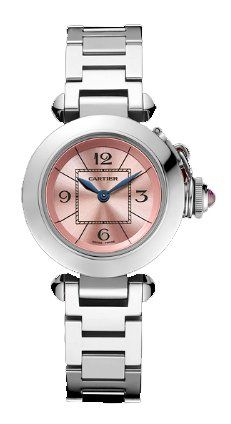 Cartier Miss Pasha Ladies Steel Watch W3140008 ** Check out the watch by visiting the link.