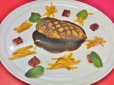 Magret profumata all'arancia su salsa al caffè , ricetta inserita da Valentina Pighi