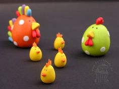 Cake cake aunt World - THE cake blog with tutorials and tips for Motivtorten: chicken eggs or chicken eggs: What now?