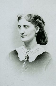 """Eliza Mary """"Molly"""" Wilson, ca. 1864. Molly was the recipient of Union Soldier James Love's letters during the Civil War. Read the letters, each published 150 years after it was written, at historyhappenshere.org. ©Missouri History Museum"""