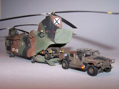 CH-28 Chinook + hammer (1/72) Alejandro Varela