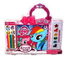 Shop Hasbro My Little Pony Fun Sticker, Paint, Draw Activity Book Set for Toys in United Arab Emirates My Little Pony Birthday Party, Birthday Gifts For Girls, Baby Girl Toys, Toys For Girls, My Little Pony Decorations, Pet Store Display, My Little Pony Backpack, My Little Pony Collection, American Girl Doll Videos