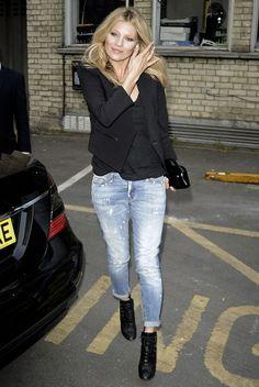 10 dicas de estilo - 02 crie seu próprio uniforme Kate Moss