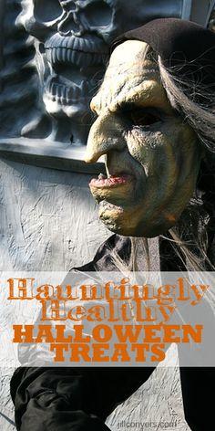 Hauntingly Healthy Halloween Treats and Snacks jillconyers.com
