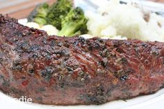 The Best Steak Marinade Ever! -- ⅓ cup soy sauce ½ cup olive oil ⅓ cup fresh lemon juice ¼ cup Worcestershire sauce 1½ tablespoons garlic powder 3 tablespoons dried basil 1½ tablespoons dried parsley flakes 1 teaspoon ground white pepper ¼ teaspoon hot pepper sauce (optional) 1 teaspoon dried minced garlic or fresh minced garlic