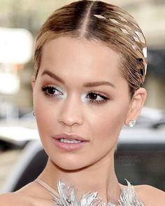 Rita Ora Met Gala 2016 Fairy Inspired Bridal makeup, fresh makeup, bridal makeup