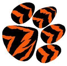 tiger cartoon pics | Tiger Paw Cut image - vector clip art online, royalty free & public ...