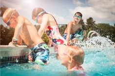 Sociable: '[The results] has important consequences for the child's social development, equipping children to understand what other people might be thinking or feeling,' explained the researchers (stock image pictured) Red Rover Game, Swimming Pool Games, Pool Party Games, Playground Games, Two Player Games, Swim School, Summer Activities, Talking To You, Social Skills