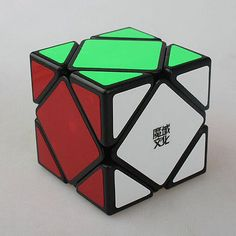 YJ MoYu Skewb Cube The Tilted Block  Magic Cube Moyu Rubik' Cube Twisty Puzzle