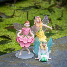 Ontmoet de drie My Fairy Garden elfjes: Blossom, Belle en Lily.   Creëer je eigen magische sprookjestuin. Speel met elfjes, ontwikkel je creativiteit en leer alles over de natuur. Geschikt voor kinderen vanaf 4 jaar.   My Fairy Garden is een magisch nieuw product voor binnen én buiten waarmee kinderen hun eigen sprookjestuin kunnen creëren. Het stimuleert om buiten te spelen en de natuur te ontdekken. Tegelijkertijd stimuleert My Fairy Garden creativiteit en knutselen. MyFairyGarden