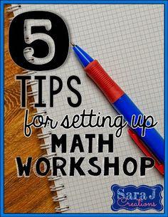 Math workshop is an
