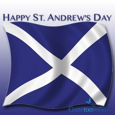 Happy St. Andrew's Day
