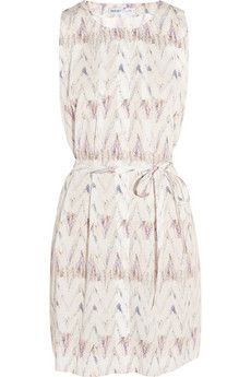 See by Chloé Pleated printed cotton dress | THE OUTNET