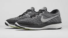 The Least Colorful Nike Flyknit Lunar 3 to Date
